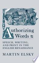 Authorizing Words