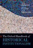 The Oxford Handbook of Historical Institutionalism - Seite 68