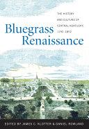 Bluegrass Renaissance ebook