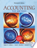 Accounting: Texts & Cases