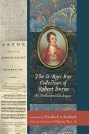 The G. Ross Roy Collection of Robert Burns