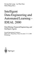 Intelligent Data Engineering and Automated Learning