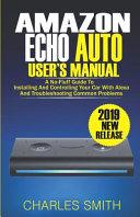 Amazon Echo Auto User s Manual