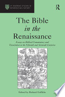 The Bible In The Renaissance