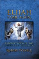 Pdf Elijah Come Again Telecharger