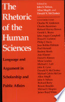 The Rhetoric Of The Human Sciences Book PDF