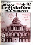 Major Legislation of the Congress Book PDF