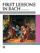 Bach    First Lessons in Bach Book