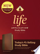 NIV Life Application Study Bible  Third Edition  Leatherlike  Brown Tan