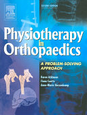 Physiotherapy in Orthopaedics