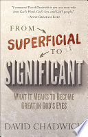 From Superficial to Significant Book PDF