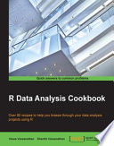 R Data Analysis Cookbook