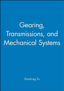 Gearing  Transmissions  and Mechanical Systems