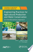 Engineering Practices for Agricultural Production and Water Conservation Book