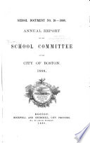 Annual Report of the School Committee of the City of Boston