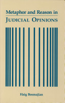 Pdf Metaphor and Reason in Judicial Opinions