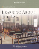 Learning about the Law, Third Edition