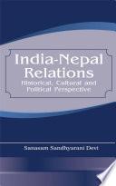 India Nepal Relations