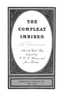 The compleat imbiber