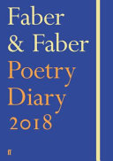 Faber and Faber Poetry Diary 2018