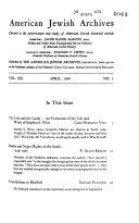 American Jewish Archives Book PDF
