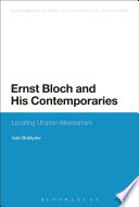 Ernst Bloch and His Contemporaries Read Online