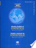 Monthly Bulletin Of Statistics October 2010