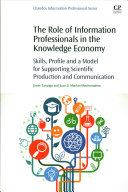 The Role of Information Professionals in the Knowledge Economy Book