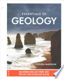 Essentials of Geology