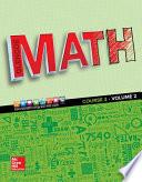 Glencoe Math 2016, Course 2 Student Edition