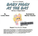 Baby Piggy at the Bat Book