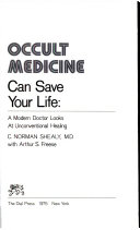 Occult Medicine Can Save Your Life