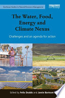 The Water  Food  Energy and Climate Nexus