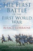 Pdf The First Battle of First World War Telecharger