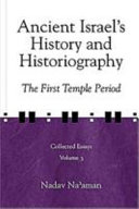 Ancient Israel's History and Historiography