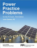 Power Practice Problems for the PE Exam Book