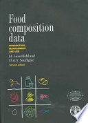 """Food Composition Data: Production, Management, and Use"" by Heather Greenfield, D. A. T. Southgate, Food and Agriculture Organization of the United Nations"