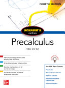 Schaum's Outline of Precalculus, Fourth Edition [Pdf/ePub] eBook