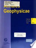 Annales Geophysicae (2001- )