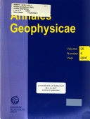 Annales Geophysicae  2001