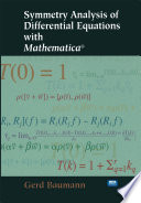 Symmetry Analysis of Differential Equations with Mathematica