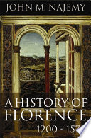 A History of Florence  1200   1575