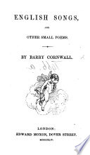 English Songs, and other small poems