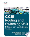 Ccie Routing And Switching V5 0 Official Cert Guide Library