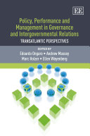 Policy  Performance and Management in Governance and Intergovernmental Relations