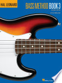 Hal Leonard Bass Method Book