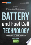 Proceedings of 3rd International Conference on Battery and Fuel Cell Technology 2018