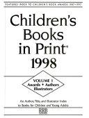 Children S Books In Print 1998 Book PDF