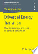 Drivers of Energy Transition