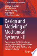 Design and Modeling of Mechanical Systems   II